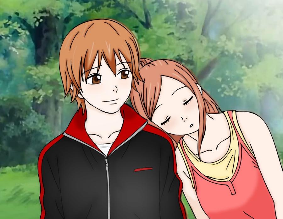 Otani_and_Risa_by_chuchie7