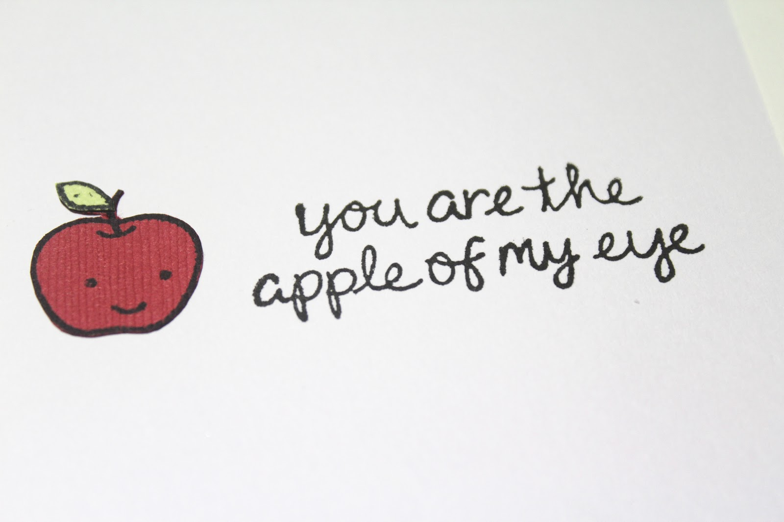 You Are The Apple Of My Eye 2